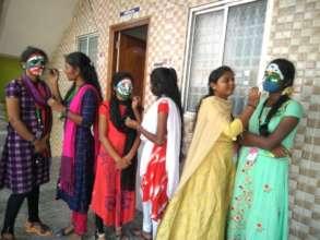 Street theater programe for rural community
