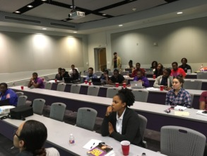 Students at Prairie View A&M University
