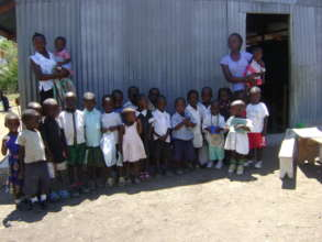 Support for ECD centre with school feeding project