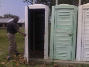 Inspecting mobile toilets earlier supported