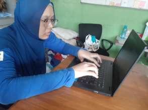 Bunga at YCM online lesson 2021