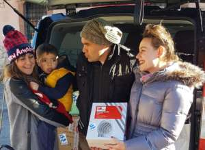 IsraAID distributing much need items in Amatrice