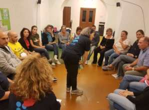 Psycho-social support in Amatrice, Italy