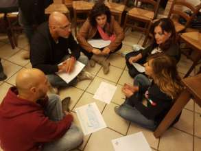 Group work during training
