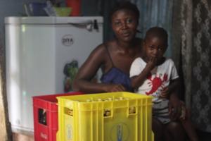 Mariatu and her son