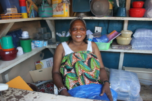 Olivette in her store