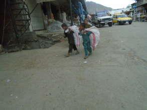 Orphan children