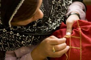 Khamak Embroidery