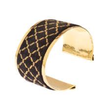 Kandahar Treasure Hand-Embroidered Cuff Bracelet