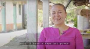 "Maria San Agustin, from our short film ""Poderosa"""