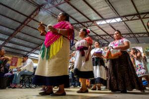 Opening ritual, 3rd Native Women Regional Forum