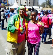 Field team at this year's Great Ethiopian Run