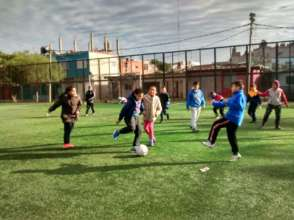 Sports day at the Education Program