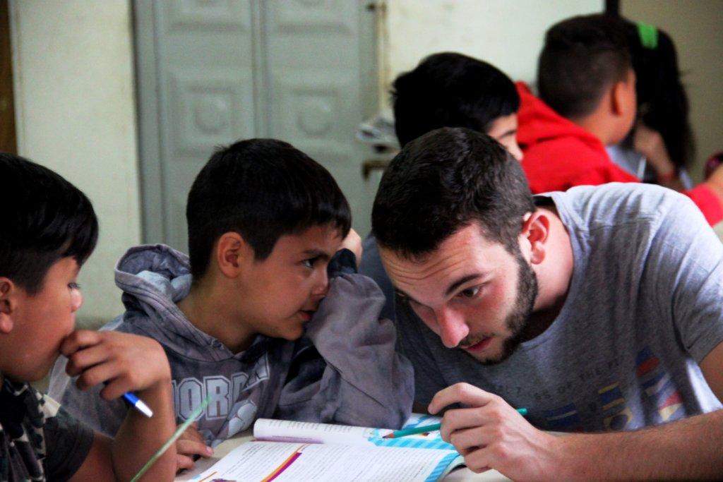Making a focus for children in Argentina