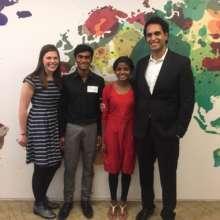 Shiney & Kishore visiting the GlobalGiving office