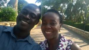 Michael and Anita from Ghana