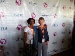 Valerie and Mildred from Zimbabwe