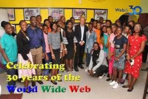 Sir Tim Berners-Lee visits W.TEC at Web 30th Anniv