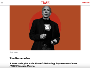 W.TEC Featured in TIME Magazine