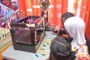 3D Design & Printing session at She Creates Camp