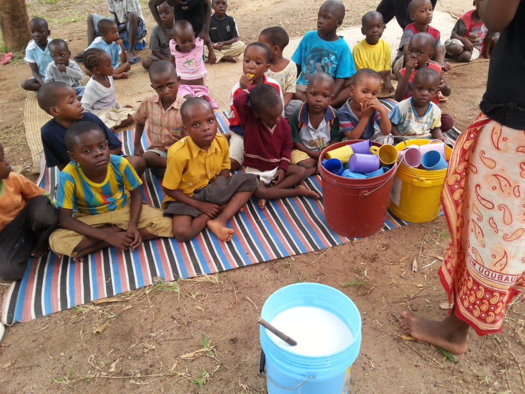 Combating Malnutrition to 380 Orphans in Tanzania
