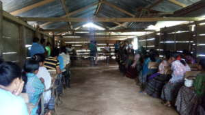 Field Supervisor Dominga teaching in Chahal