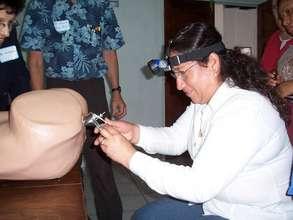 Staff receive VIA/Cryo training