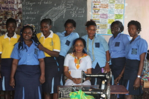 Students at Women's Vocational Training Center