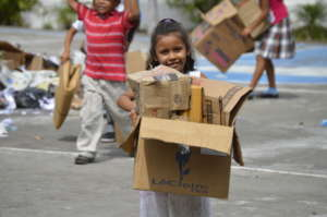 Our recycling program provides sustentability