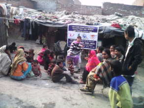 Save Live of 41 Dying TB Patients by Food @Lucknow