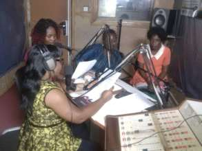 During one of our empowerment programs on radio