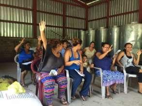 Women of Ochomogo ready to join the program