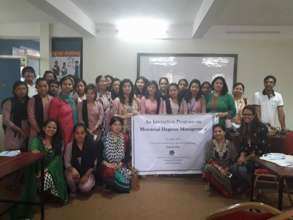 Interaction on MHM with women_ICA Nepal