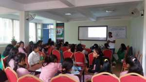 Interaction Program on MHM with women
