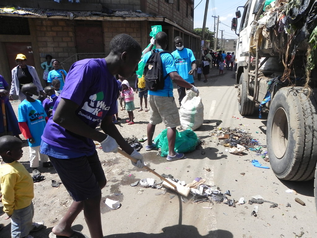 Educating street children in the Mathare slums