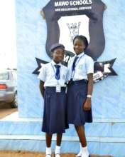 Our 2 STEM Girls scholarship recipients.