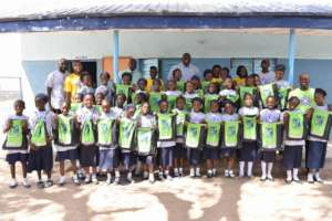 Group picture at the STM camp in Minna
