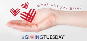 #GivingTuesday Nov 29th 2016