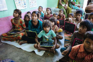 Give Educational Material to 50 Needy Children