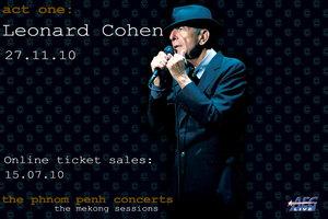 Leonard Cohen Live in Phnom Penh - 27.11.10