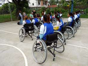 CNVLD Wheelchair Basketball 2012 A