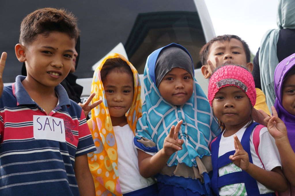 Peace Building Training for 150 kids in Mindanao