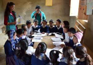Our sponsored children are in the classroom