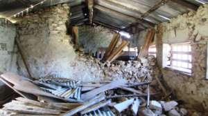 Nepal Earthquake destroyed classroom