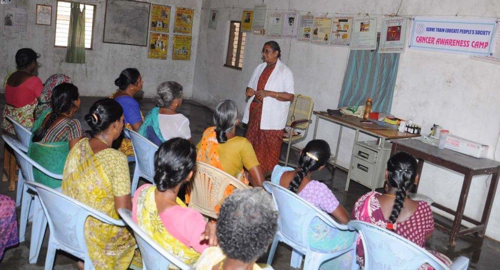 Cancer Awareness & Screening of 3000 Indian women