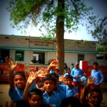 People First school students