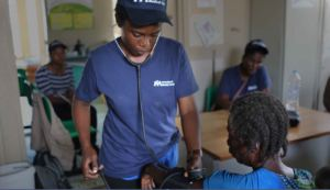 Providing medical care to the people of Haiti