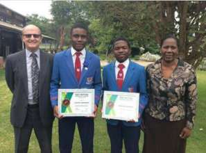 Taku 4th in Zimbabwe Science Olympiad