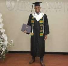 Pioneer student Destiny,graduates