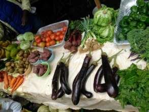 Organic produce from Wynne Farm